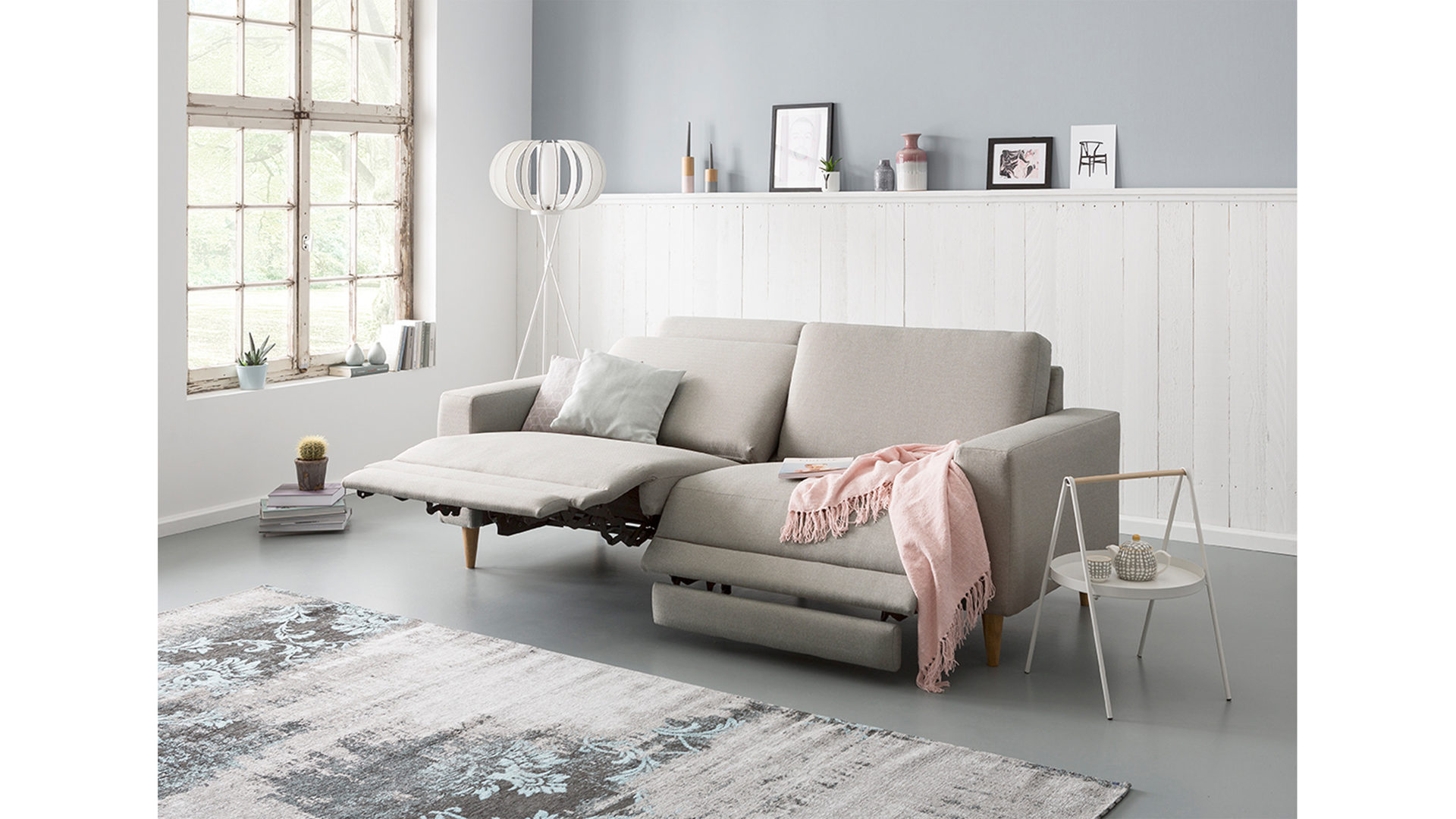 Möbel Bernskötter Mülheim, Zweisitzer-Sofa mit Funktion ...
