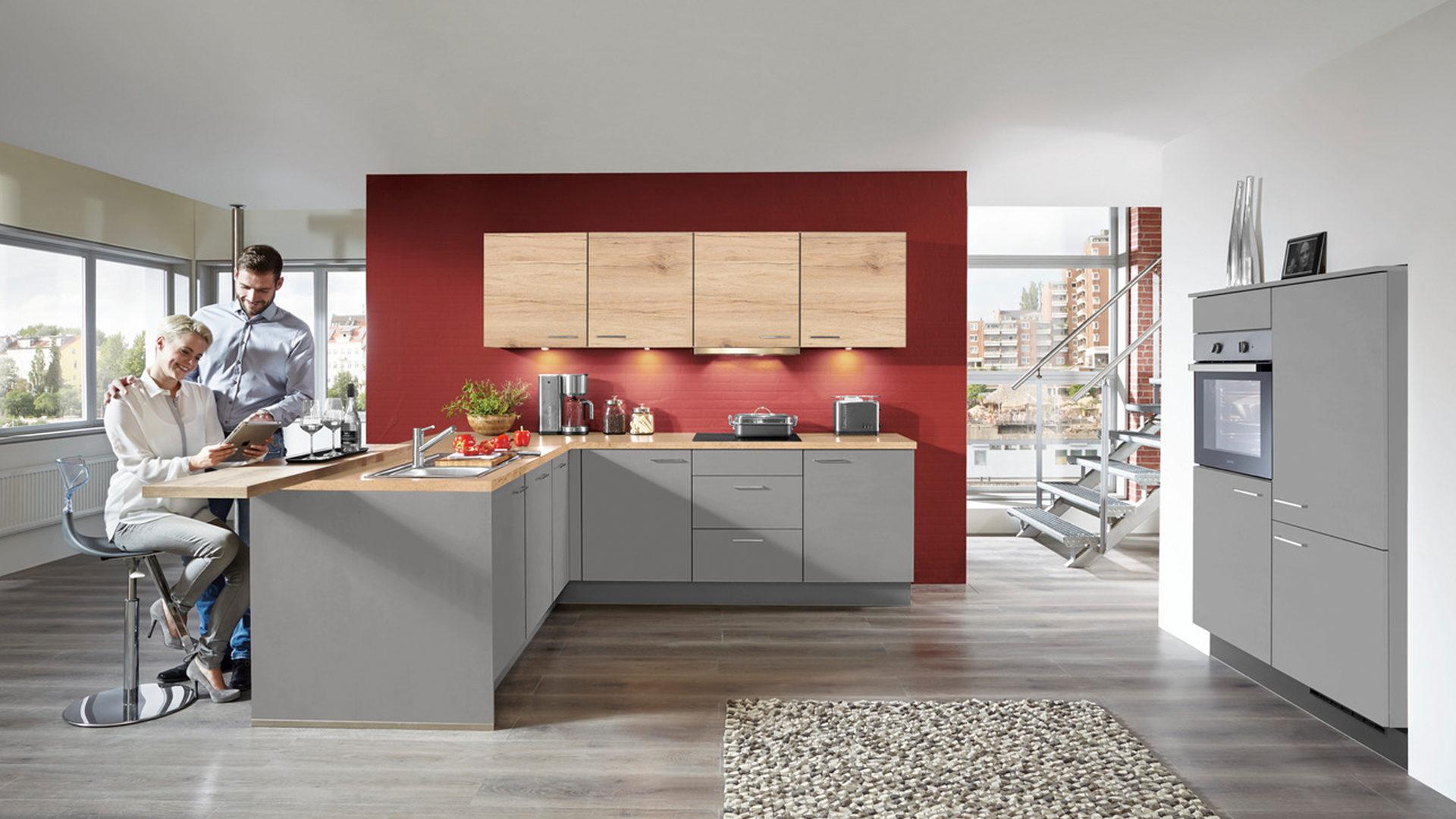 Niedlich Best Blau Grau Lackfarbe Küche Fotos - Ideen Für Die Küche ...