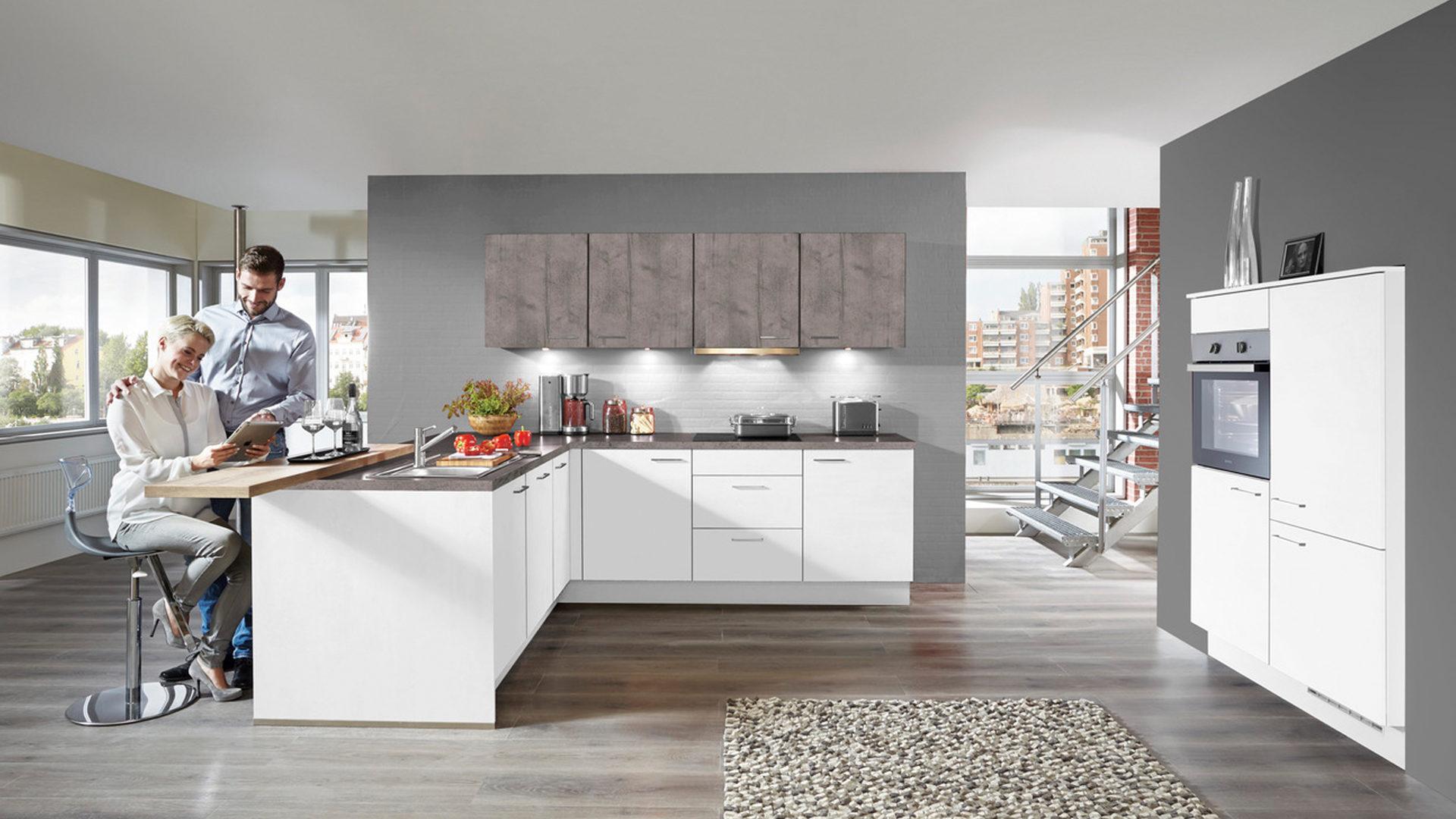 Möbel Bernskötter Mülheim | Räume | Küche | Einbauküche mit ... | {Einbauküche günstig mit elektrogeräten 20}