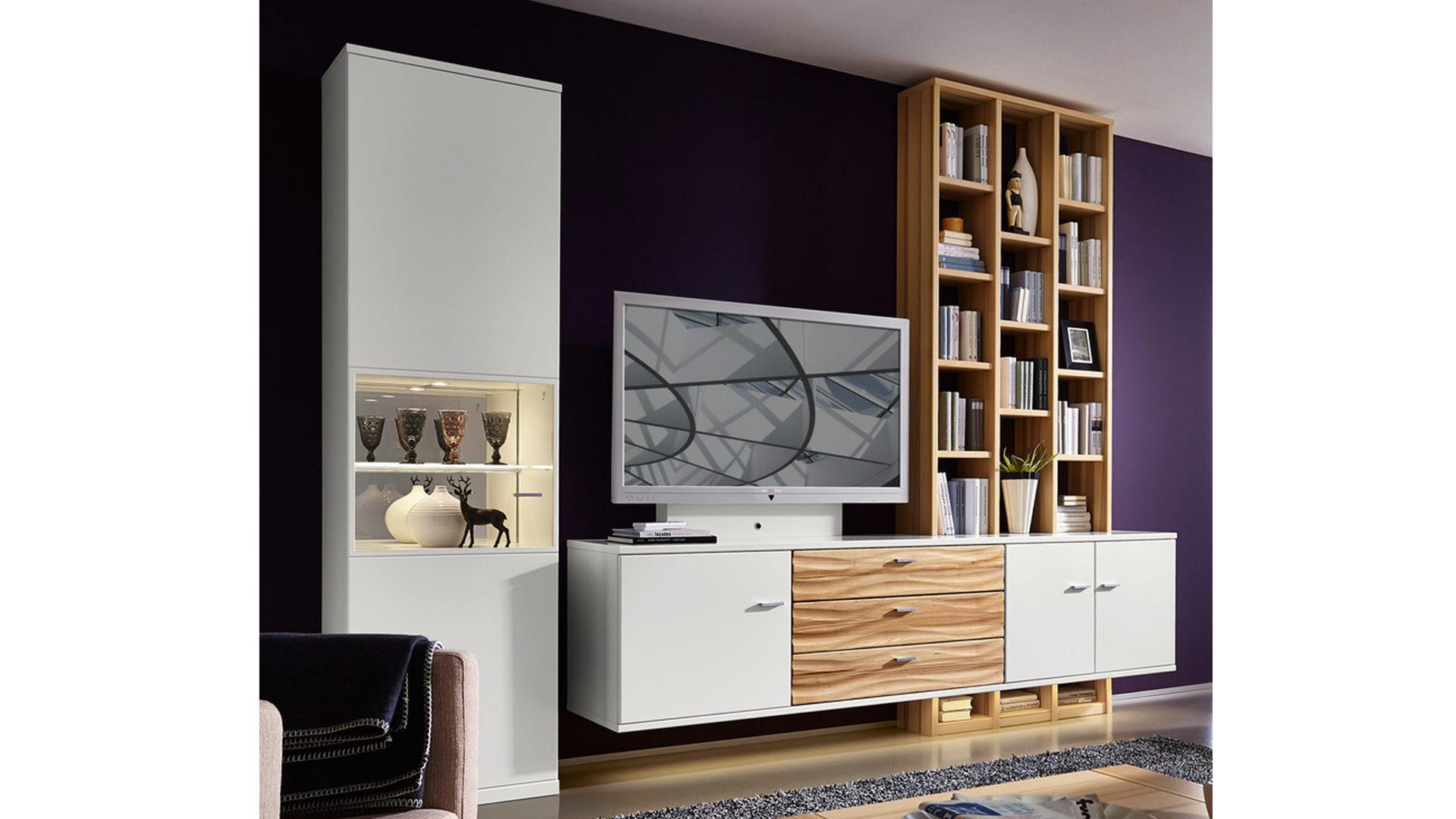 Wohnwand Weie Holz ~ Best of gardinen ideen zum weiße wohnwand dekorieren bilder