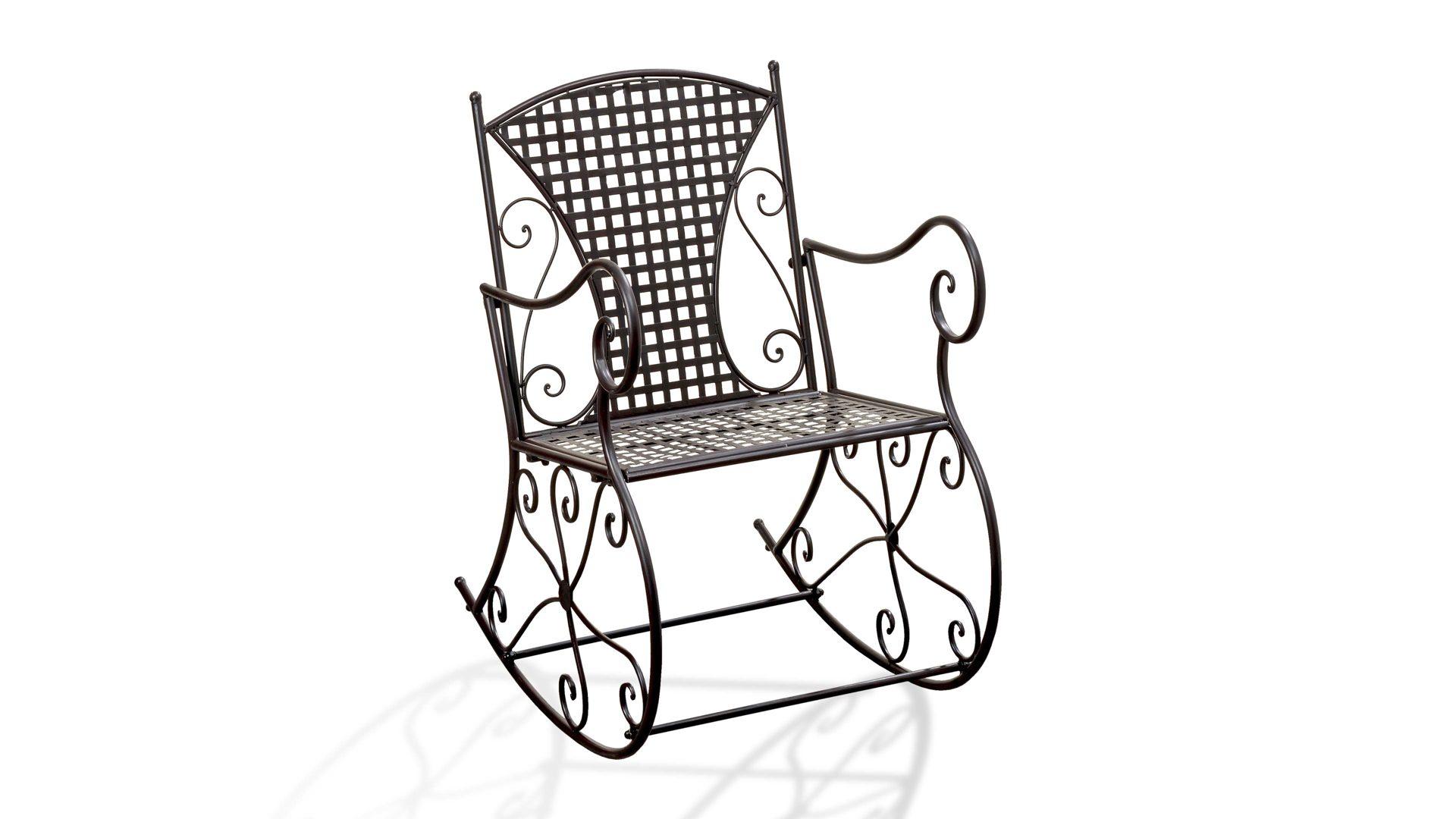 Möbel Bernskötter Mülheim, Möbel A Z, Sessel + Hocker, Schaukelstuhl,  Schaukelstuhl Konya, Als Gartenstuhl Einsetzbar, Antikbraun Lackiertes  Metall