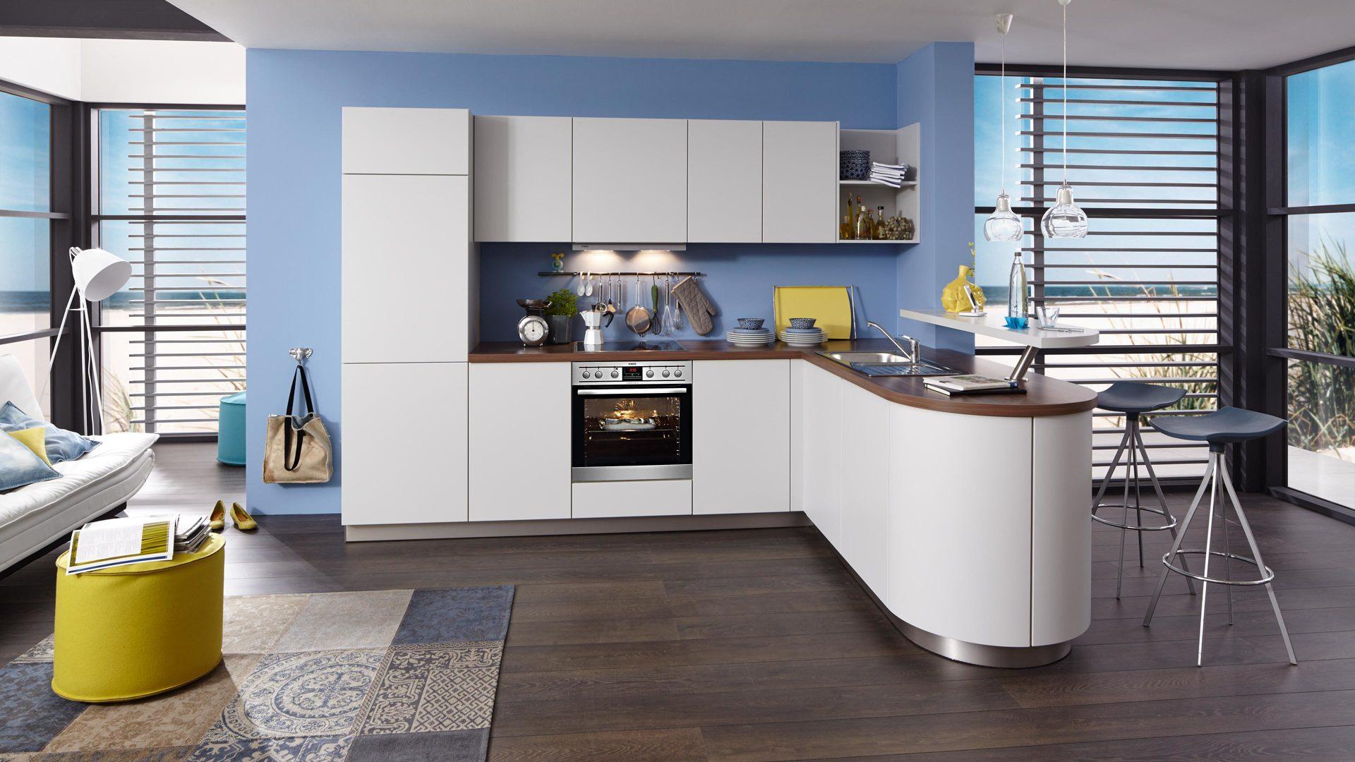 Möbel Bernskötter Mülheim, Küchen, Einbauküche, Einbauküche mit AEG ...