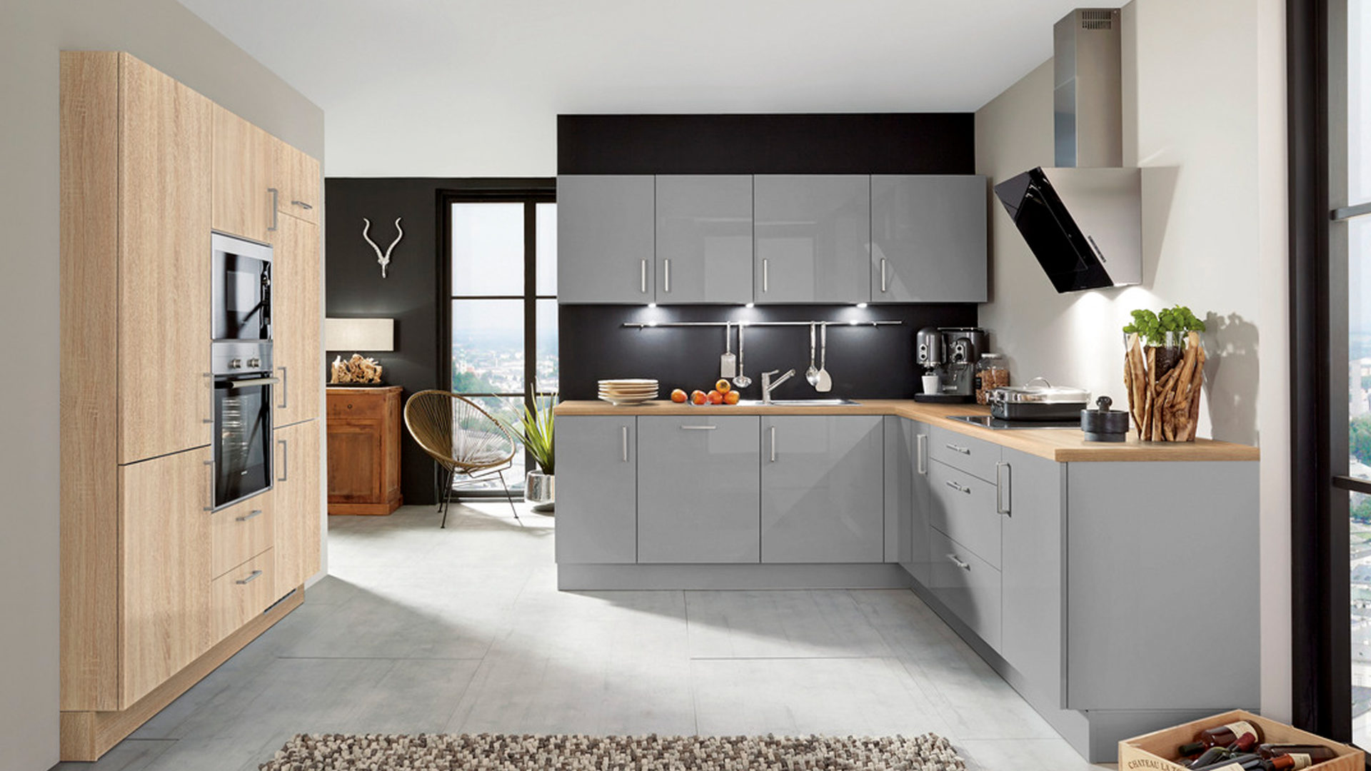 Einbauküchen mit elektrogeräten  Möbel Bernskötter Mülheim, Möbel A-Z, Küchen, Einbauküchen ...
