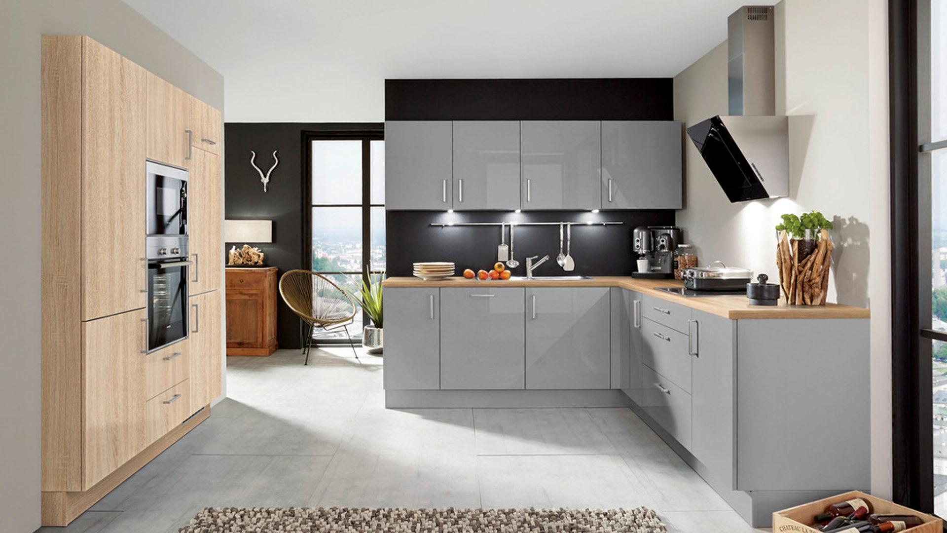 Tolle Hochglanz Weiß Farbe Küchenschränke Galerie - Küche Set Ideen ...