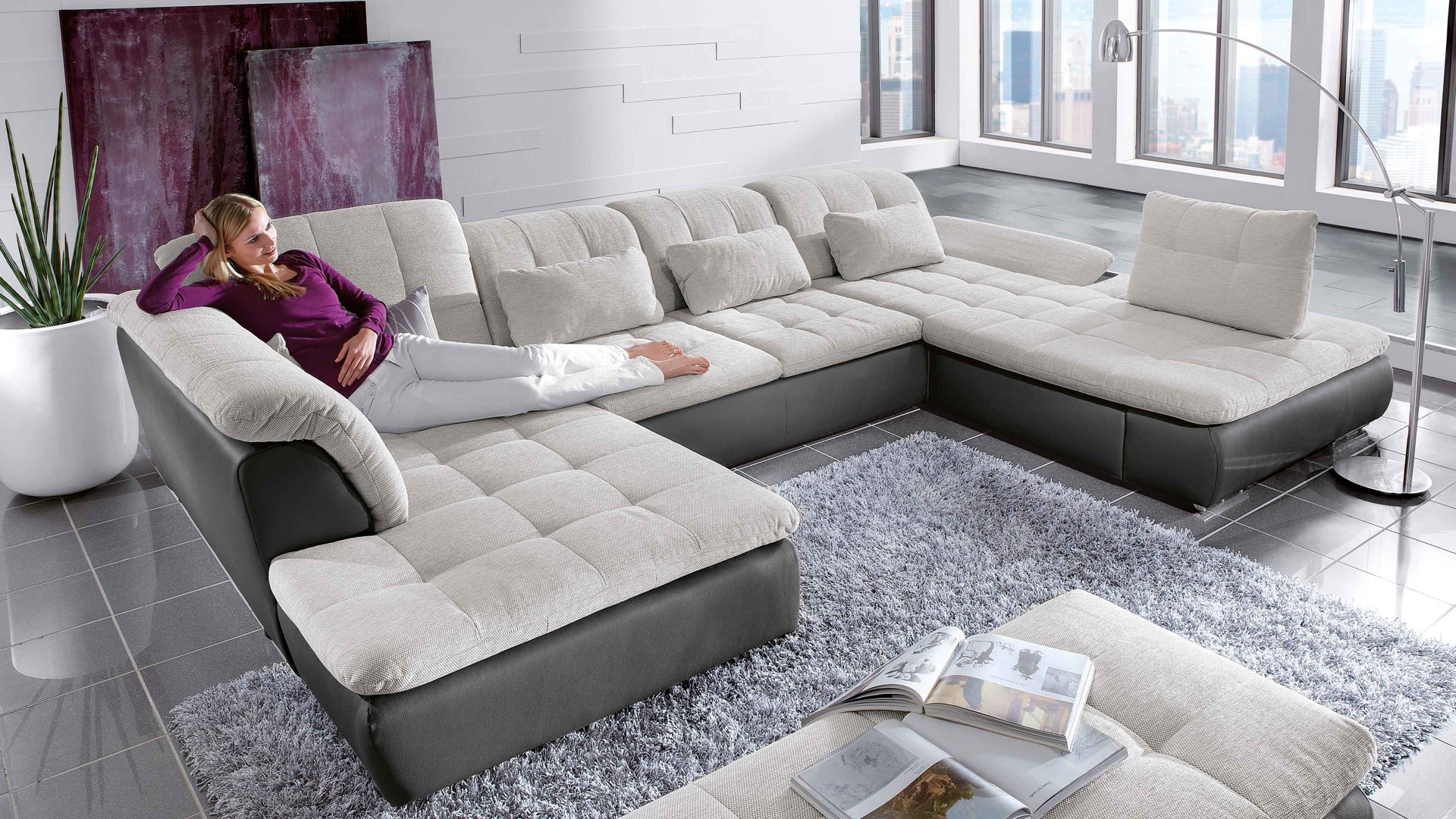 Eckcouch u form  Möbel Bernskötter Mülheim | Suchergebnis für Couch | Comfortmaster ...